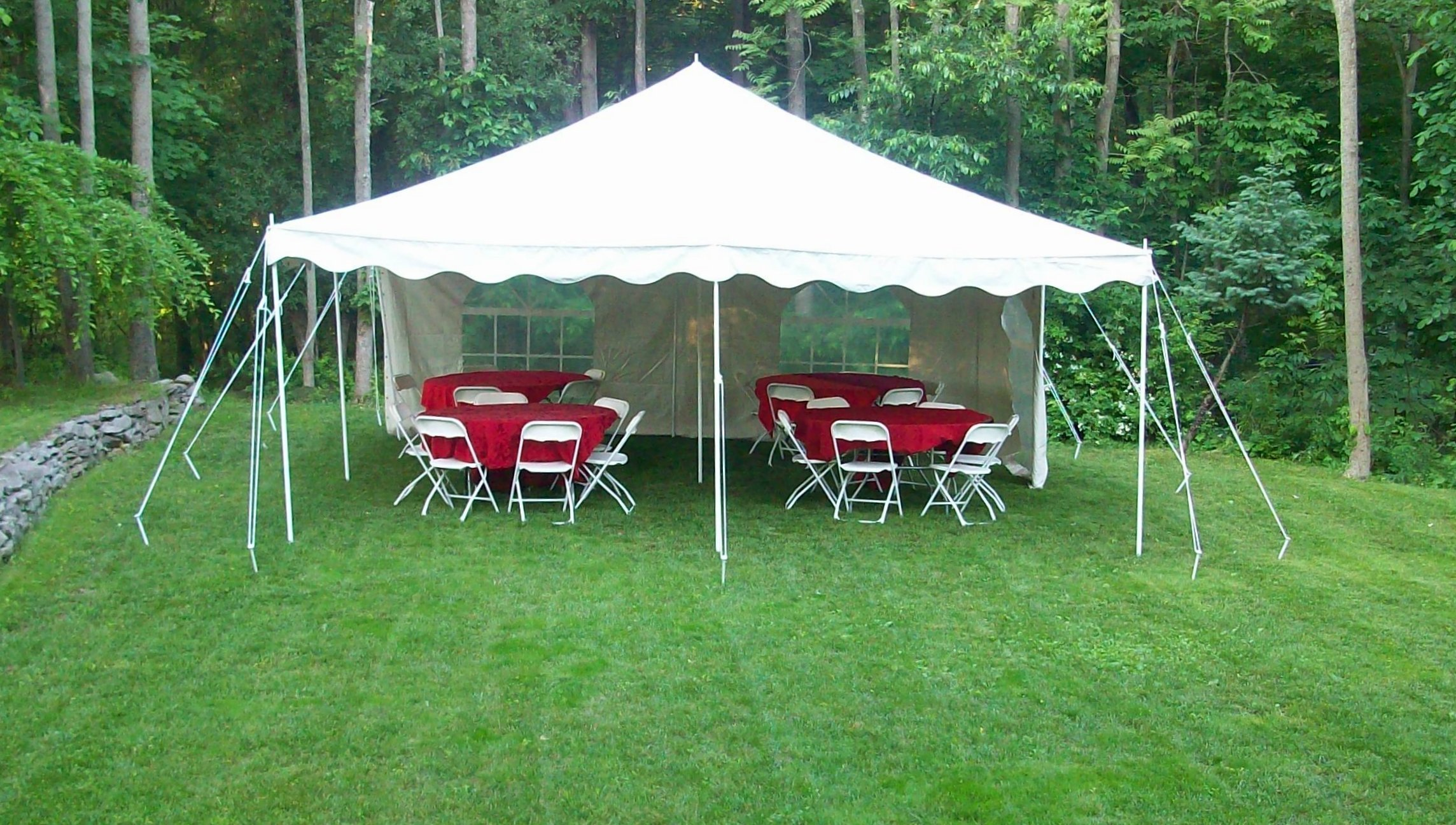 Any Occasion Party Rentals Tent Rentals Orange County NY - Outdoor table tent