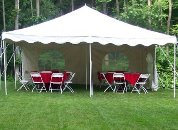 About the 20 x 20 Tent. Scroll down to see seating arangements and space needed & Tent renting information for 20u0027 by 20u0027 party tents